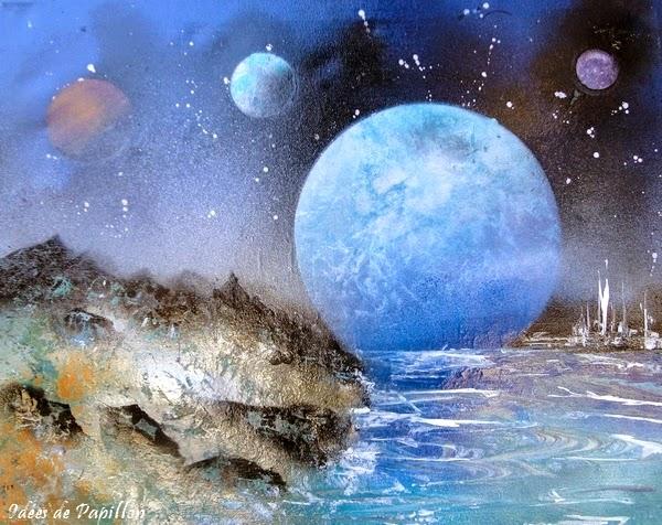 peintures à la bombe, planète