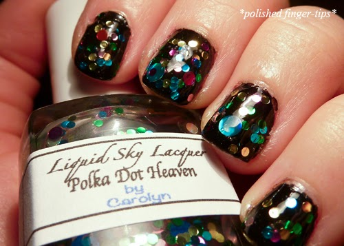 Polka Dot Heaven by Liquid Sky Lacquer - Artificial Light