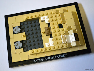 lego opera house - the stairs