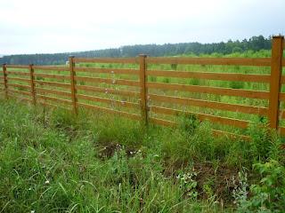 Деревянный забор. Фото 19