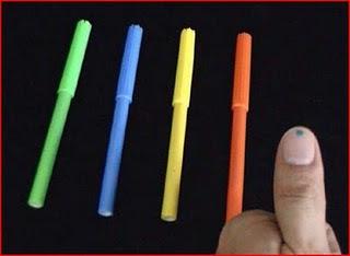 Trik Sulap Menebak Warna Crayon