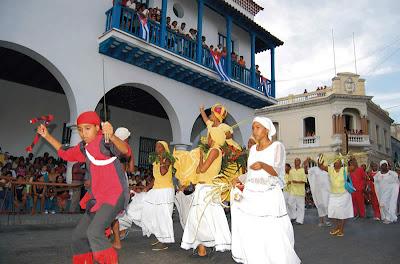 Fiesta del fuego en santiago de cuba