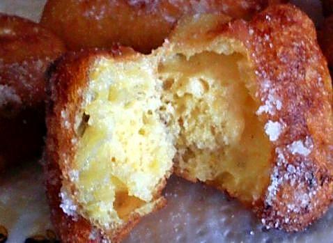 Corte buñuelos de naranja