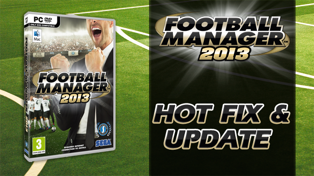 fm 13 hot fix and update