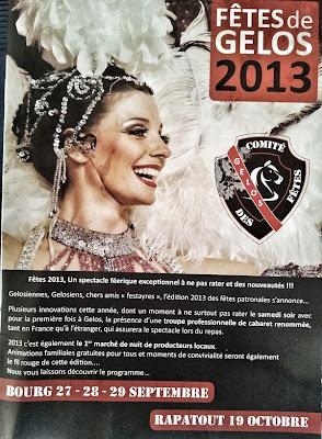Fêtes de Gelos bourg 2013