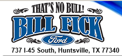 THANK YOU BILL FICK FORD