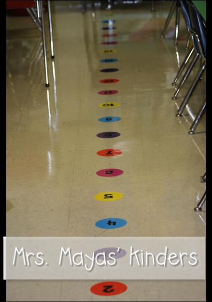Classroom Ideas K 3 ~ Mrs mayas kindergarten line up a bright idea for