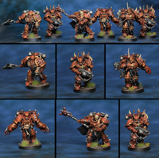 Chosen Chaos Space Marines