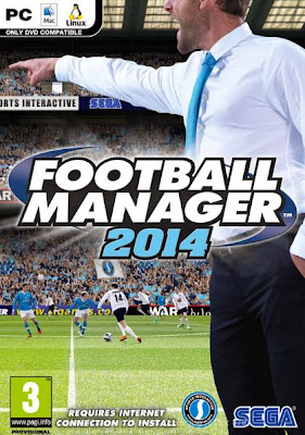 Football Manager 2014 PC Cover