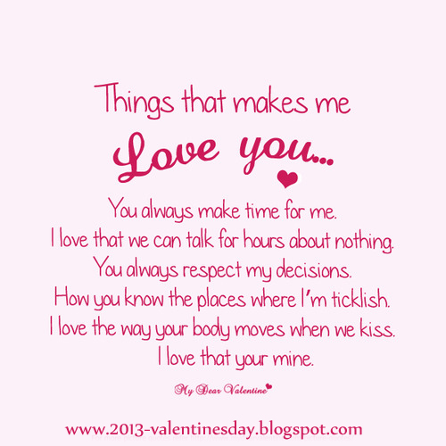 Quotes on Love - I love you Quotes for Valentines day 2013 Online ...