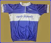 Le maillot de la cyclo