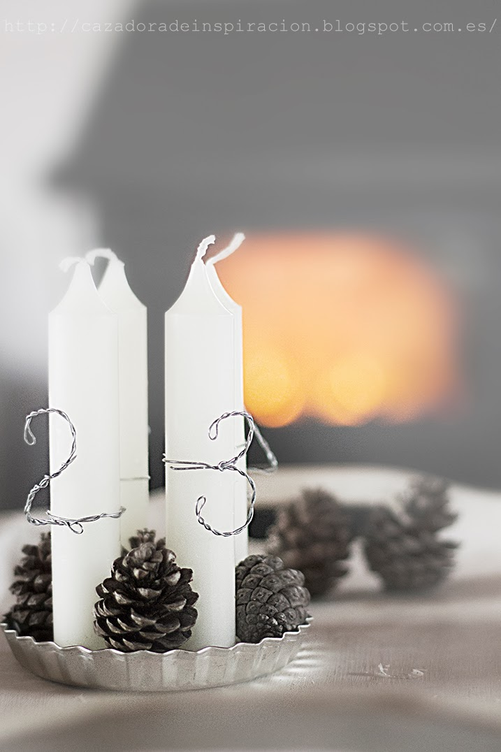 Advent candles / Cazadora de inspiración © Anna Tykhonova