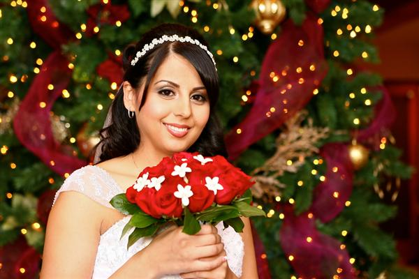 christmas wedding decoration When deciding on wedding menu for reception