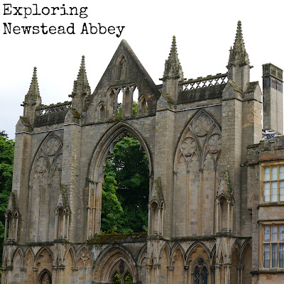 Summer Exploring at Newstead Abbey