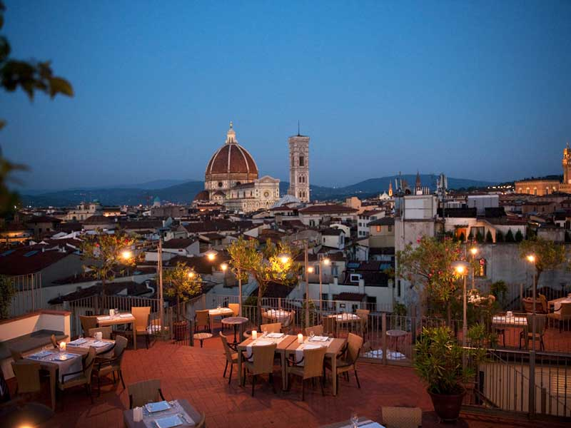 Io Amo Firenze: God Save the Wine sulla terrazza del Grand Hotel ...