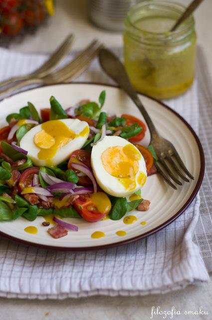Sałatka z jajkami przepis