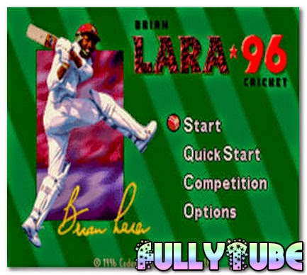 Brian Lara Cricket 1996 PC