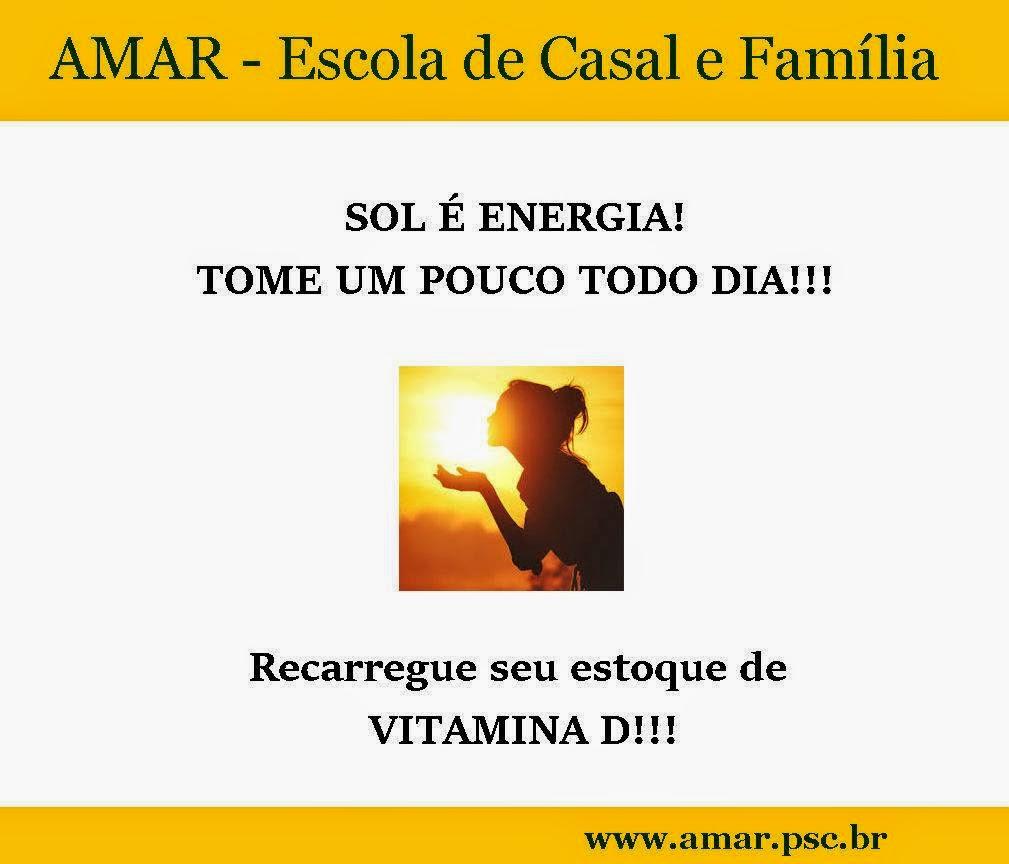 SOL É ENERGIA!!! Médicos alertam sobre a carência de VITAMINA D na população em geral