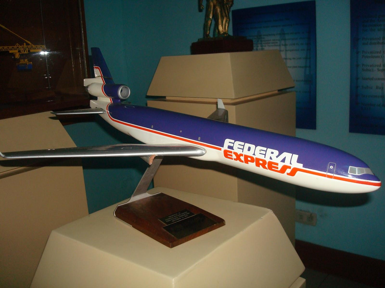 FedEx plane in Subic museum