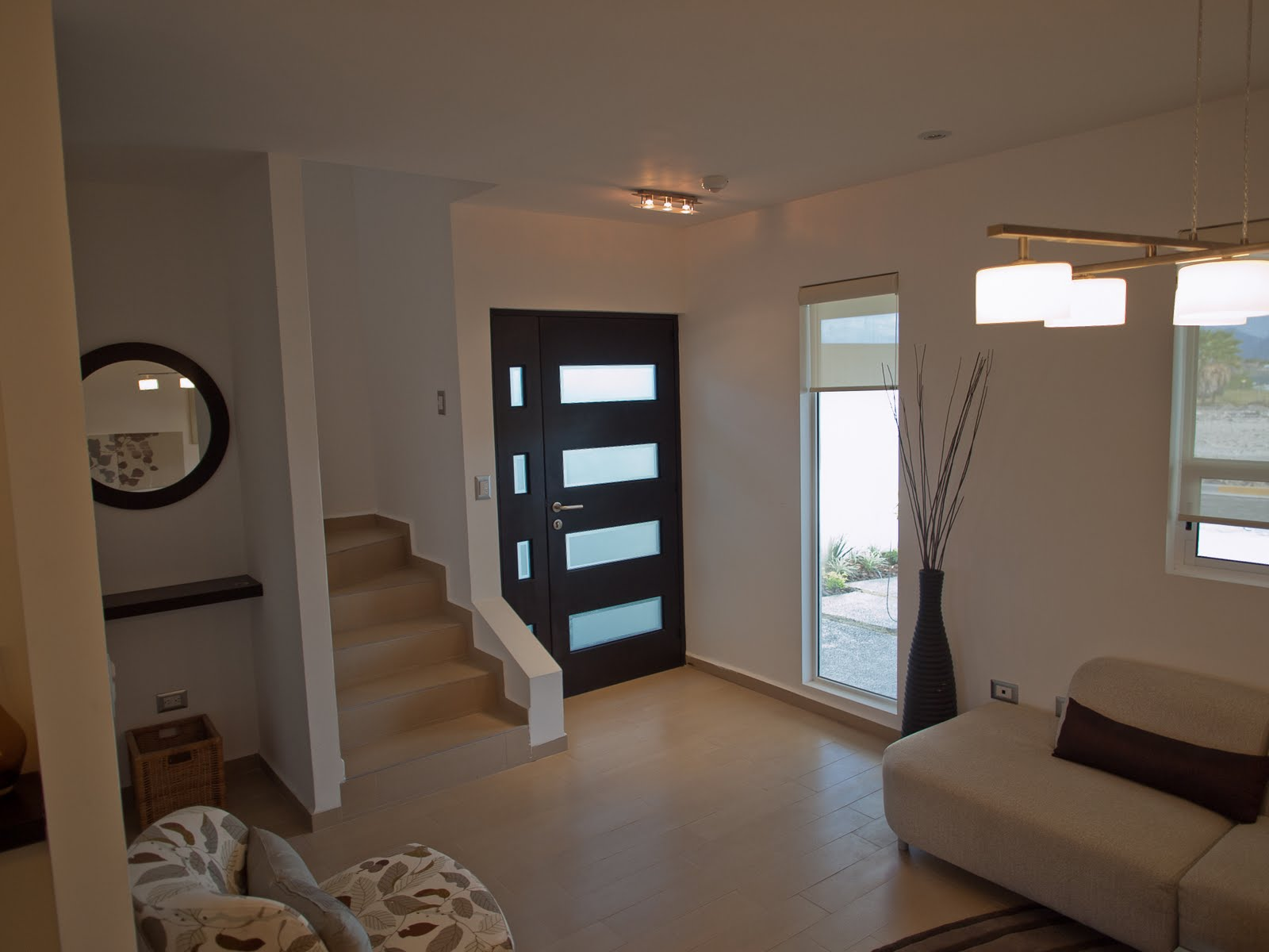 Casas en venta y departamentos casas muestra modelos 172 for Recamaras blancas modernas