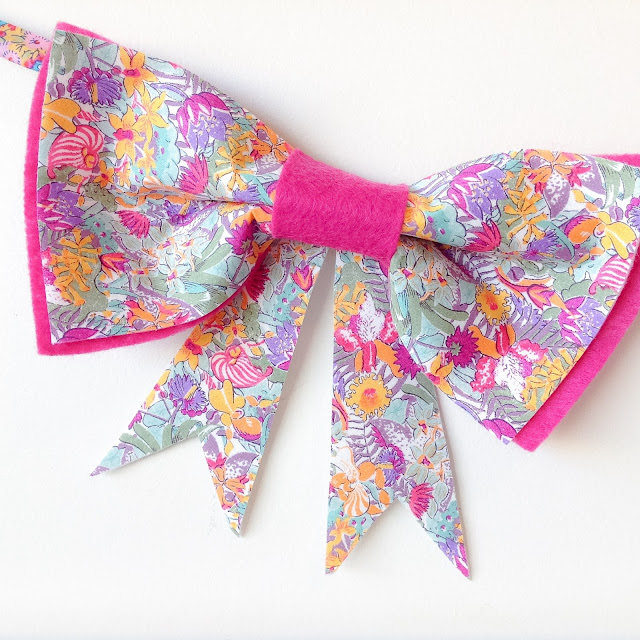 Close-up Liberty Ciara Handmade Bow