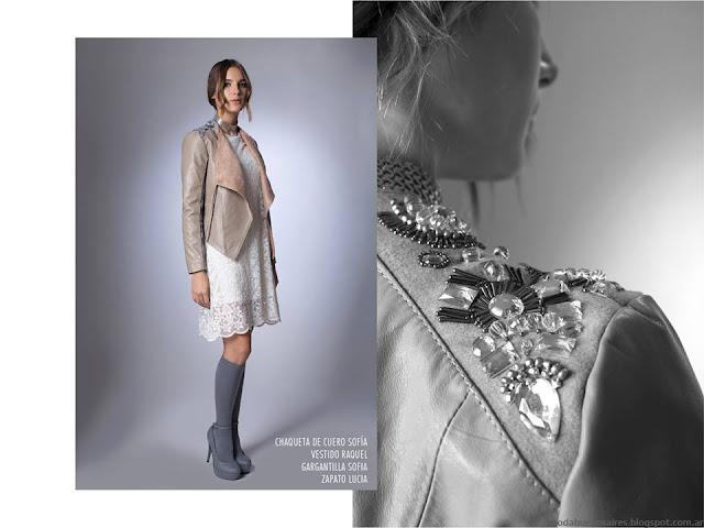La Cofradía otoño invierno 2016. Moda invierno 2016 vestidos.