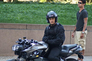 Aamir Khan in Dhoom 3 on location first look