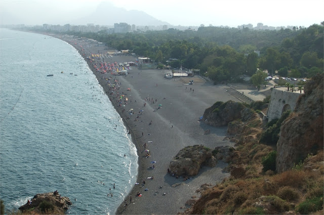 Playa de Antalya - Cerca del Museo Arqueológico