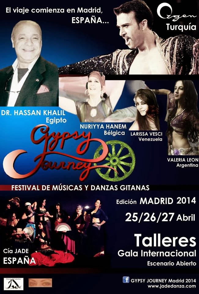 Gypsy Journey 25/26/27 abril 2013