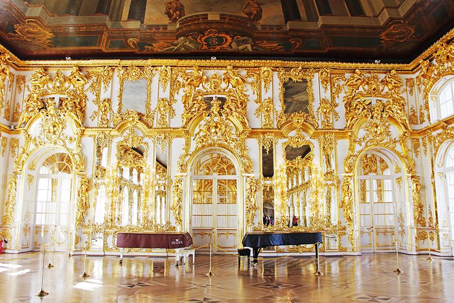 Catherine Palace, Tsarskoye Selo, St Petersburg Russia