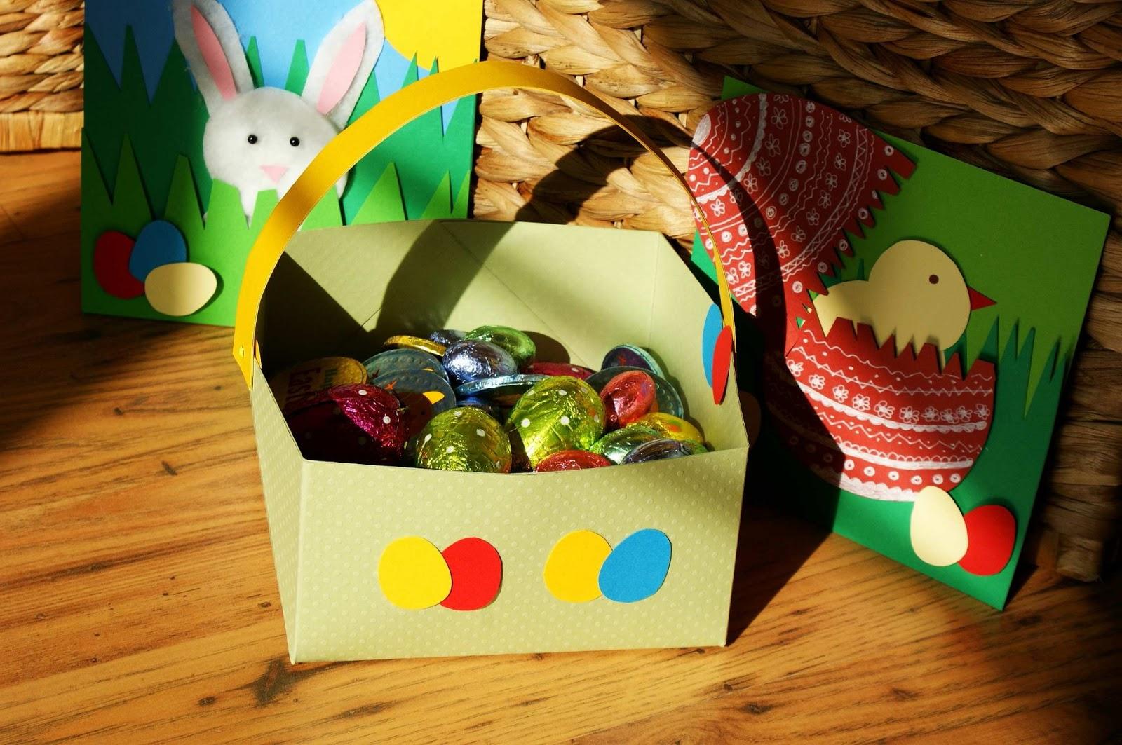 Craft magic easter project handmade easter basket - Custom made easter baskets ...