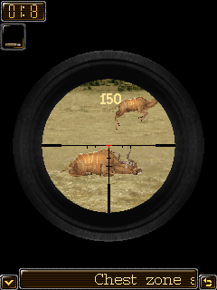 Free Download Deer Hunter 4 : African Safari 240x400 Here [887KB]