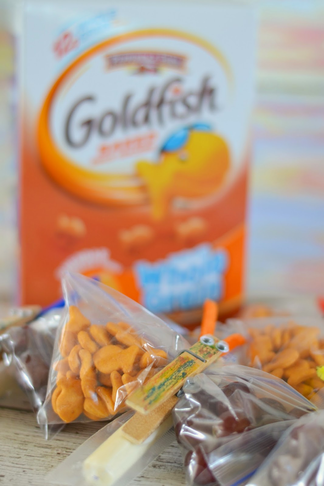 Goldfish crackers, snacking, Walmart, Recipes with Goldfish crackers, Goldfish snacks, Goldfish Butterfly Snack Bags, Goldfish snack bags.