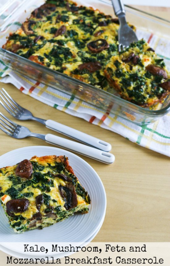 Kale, Bacon, And Cheese Breakfast Casserole Recipe — Dishmaps