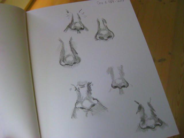tegninger af næser