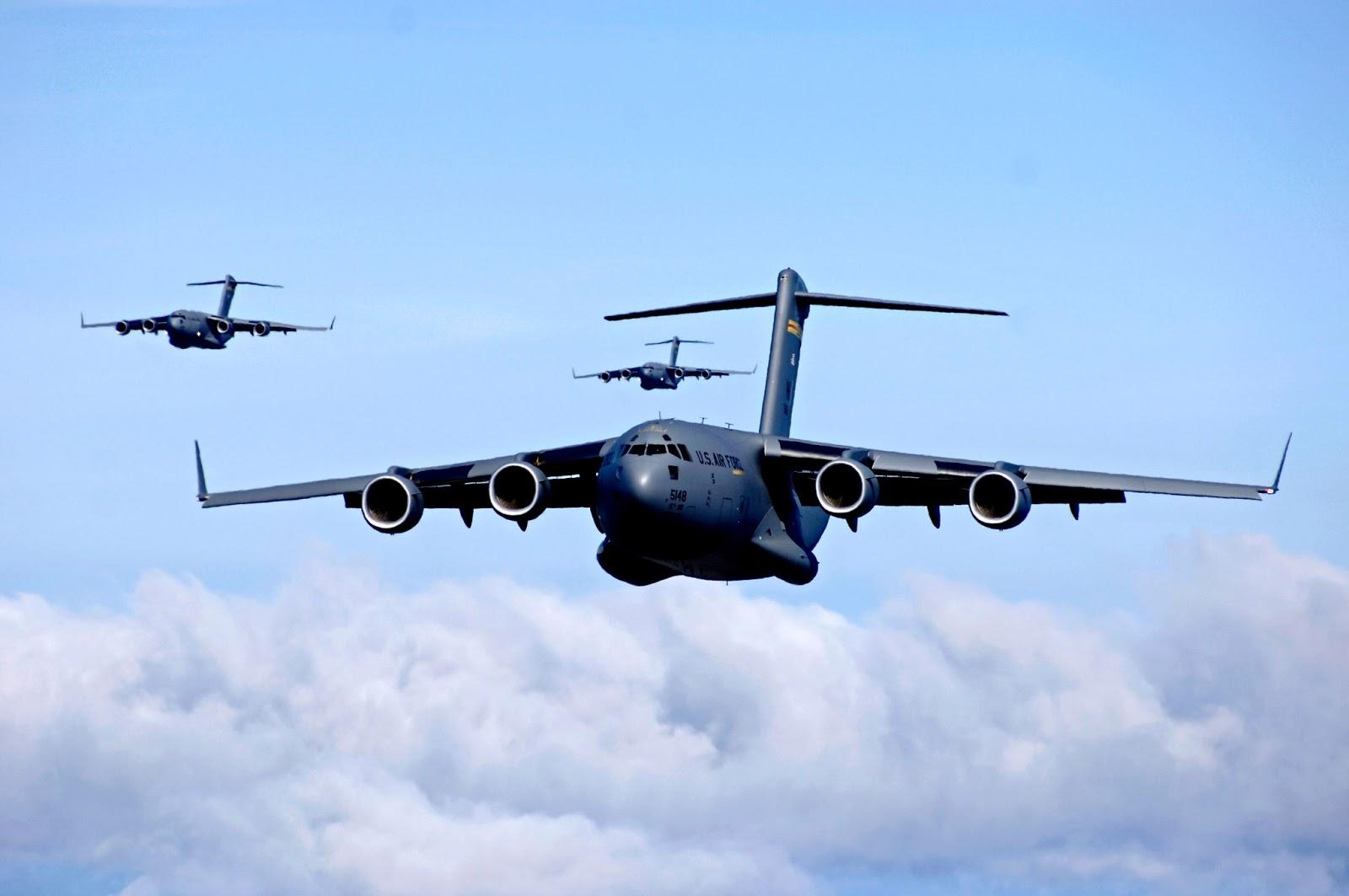 C-17 Globemaster IIIs