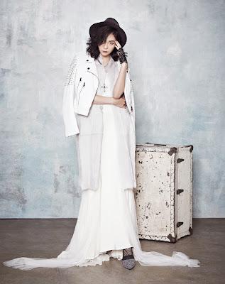 Lee Som - InStyle Weddings Magazine October Issue 2013