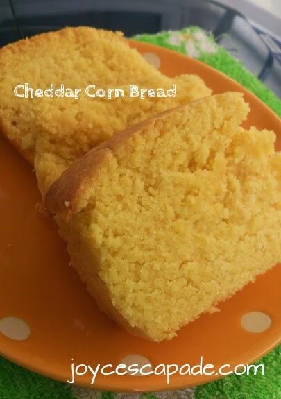 Cheddar Corn Bread (Bobby Flay) - Joy 'N' Escapade