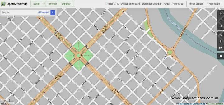 OpenStreetMap en NavFree