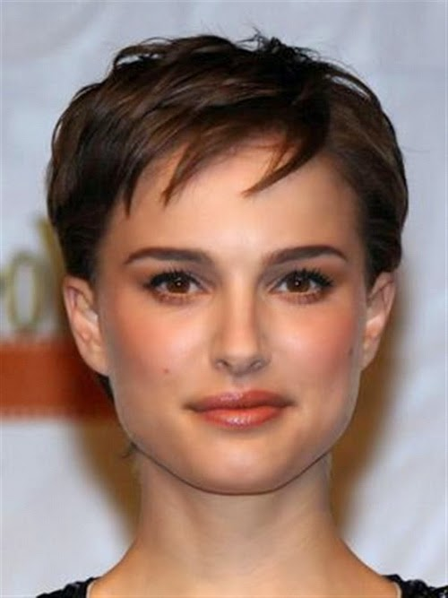 women square faces with short hairstylesv