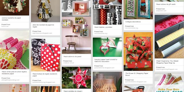 30 ideas para reciclar papel de regalo