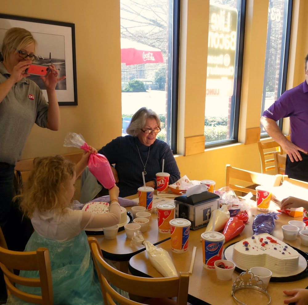 Hines-Sight Blog Southern Parenting Tale: A Grandma's New Found Love for all things Frozen: Dairy Queen and  Elsa
