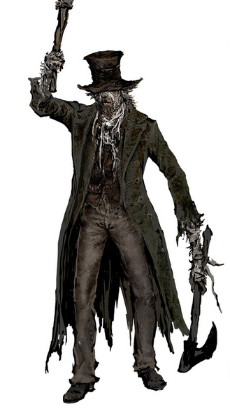 Bloodborne Character Concept Art