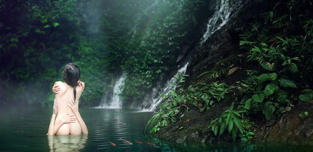 Bộ Ảnh khỏa thân nữ nghệ thuật giữa thiên nhiên