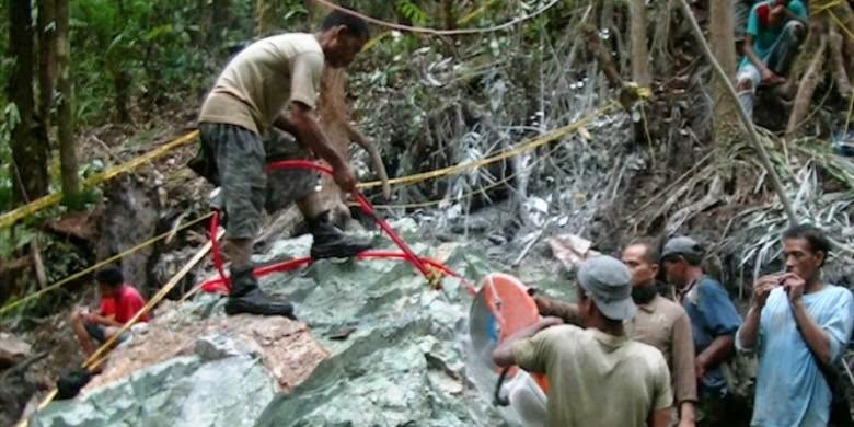 Penemuan Giok 20 ton di Aceh