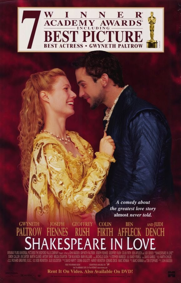71 oscar en iyi film odulu shakespeare in love