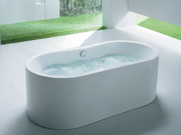 Whirlpool Bad Vrijstaand : Interiur huis keuken modern vrijstaand bad