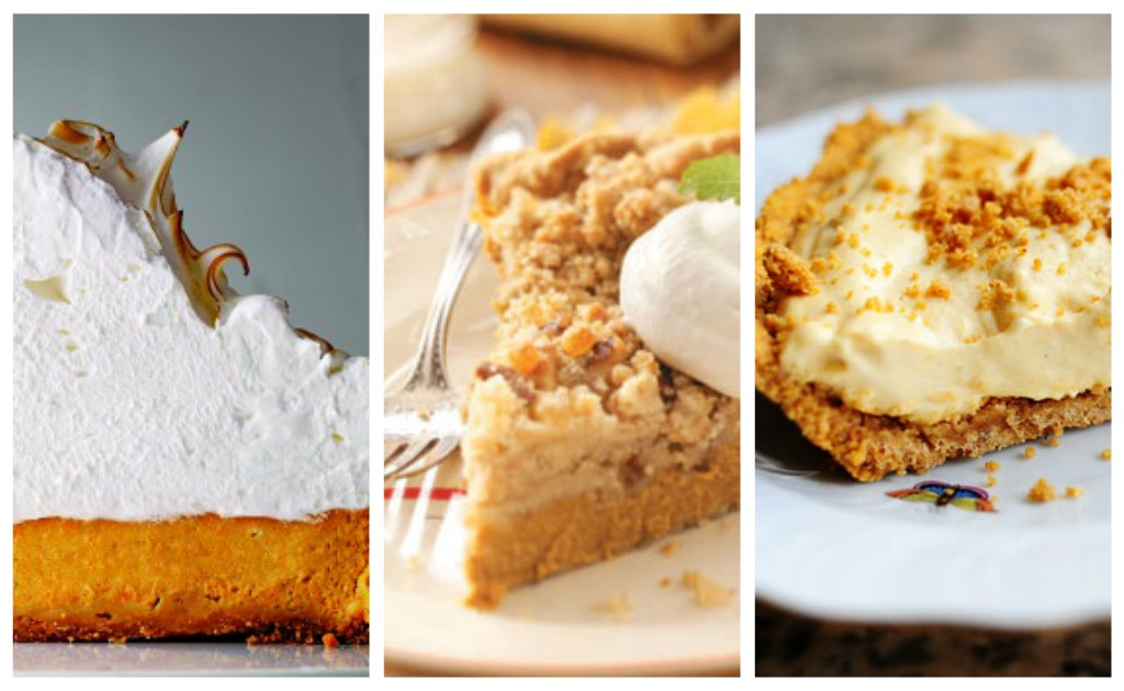 Deep Dish Pumpkin Meringue Pie {Martha Stewart}