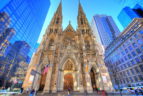 The War of New York - The Ascendants St+Patricks+Cathedral