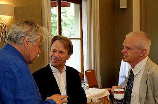 Échecs à Genève : trois légendes des échecs Vlastimil Hort, Ulf Andersson et Zoltan Ribli - Photo © site officiel